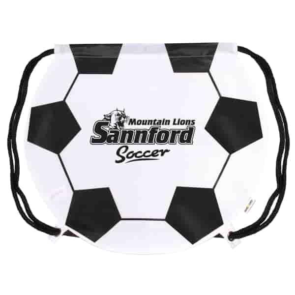 Game Time!® Drawstring Backpack -Soccer