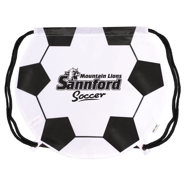 Game Time!® Drawstring Backpack -Soccer