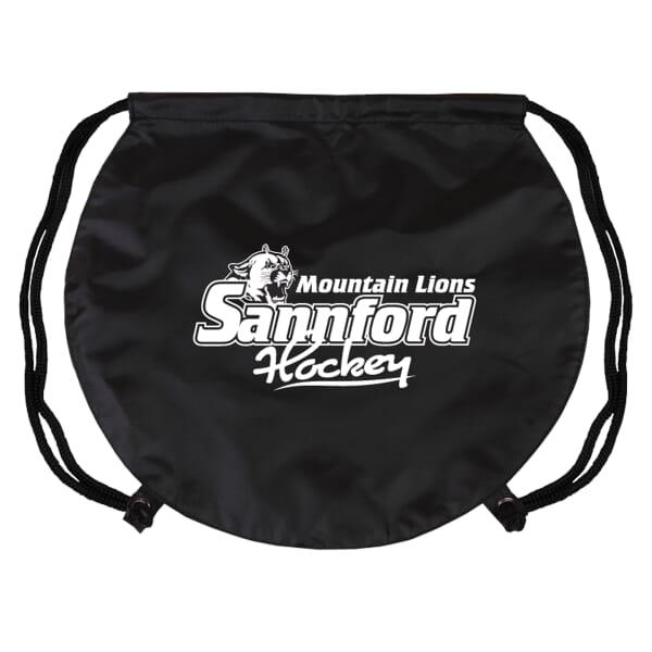 Game Time!® Drawstring Backpack -Hockey