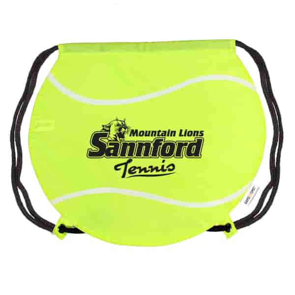 Game Time!® Drawstring Backpack -Tennis Ball