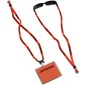 Dual Lanyard and Eyeglass Straps