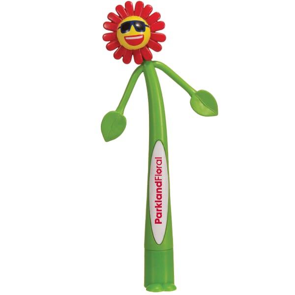 Flower Bendy Pen