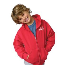 Hanes® Youth Full-Zip Hoodie