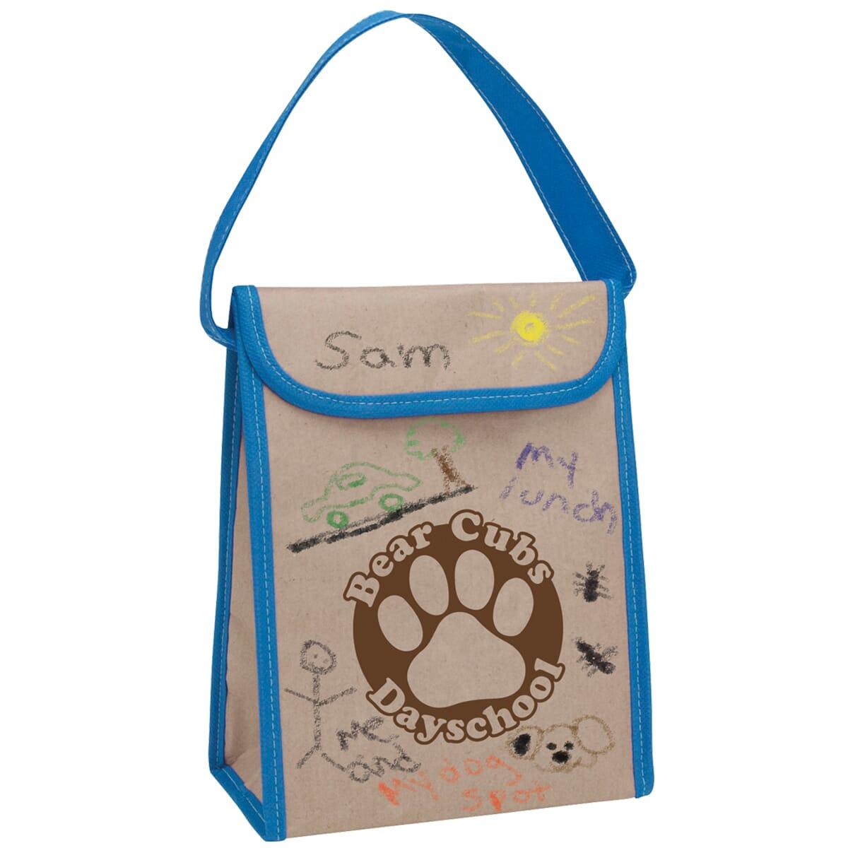 Kraft paper lunch bag