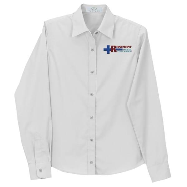 Blended L/S Poplin Shirt-Ladies'