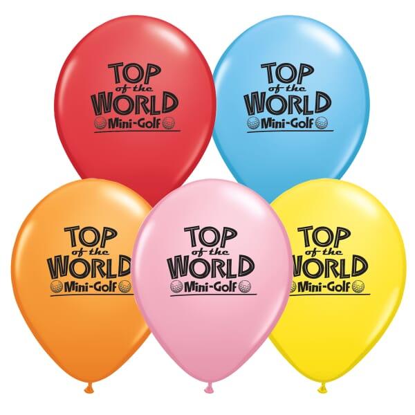 "11"" Qualatex® Balloons- Standard Colors"