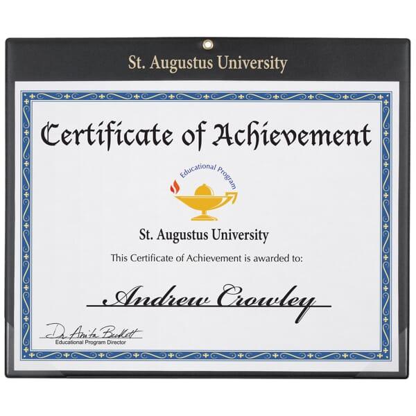 Wall Certificate Holder