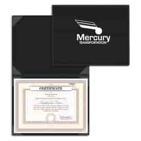 Tabletop Certificate Holder