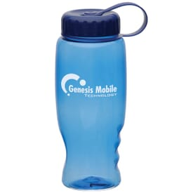 27 oz Poly-Squeeze Capped Sports Bottle