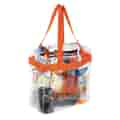 Clear Tote In Use