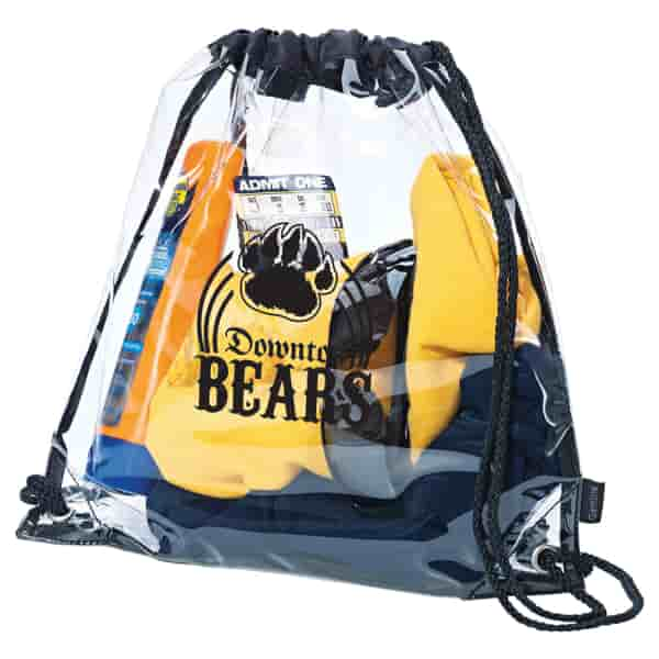 All Clear Drawstring Backpack