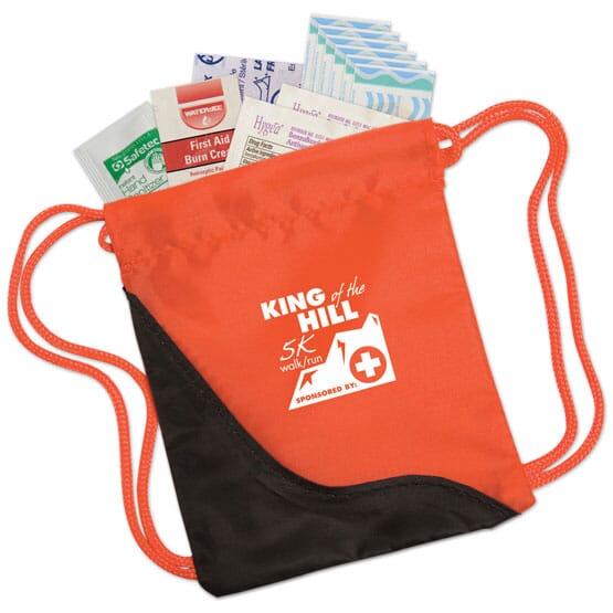 Mini Drawstring First Aid Kit 110035