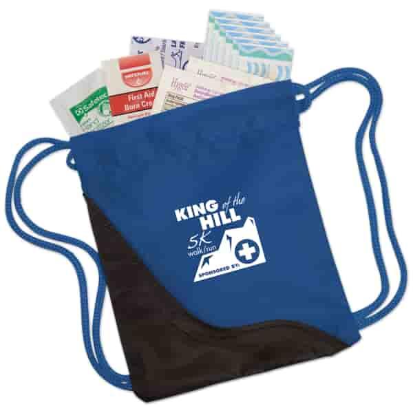 Mini Drawstring First Aid Kit