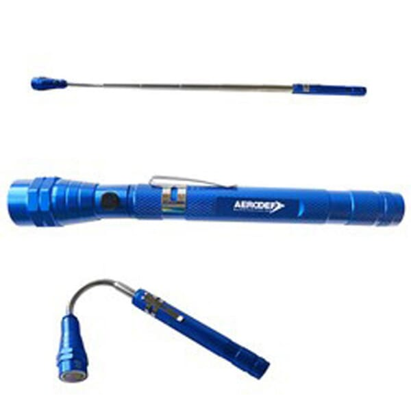 3 LED Telescopic Flashlight