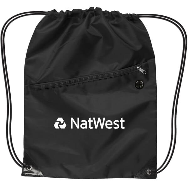 Pinnacle Nylon Drawstring Backpack