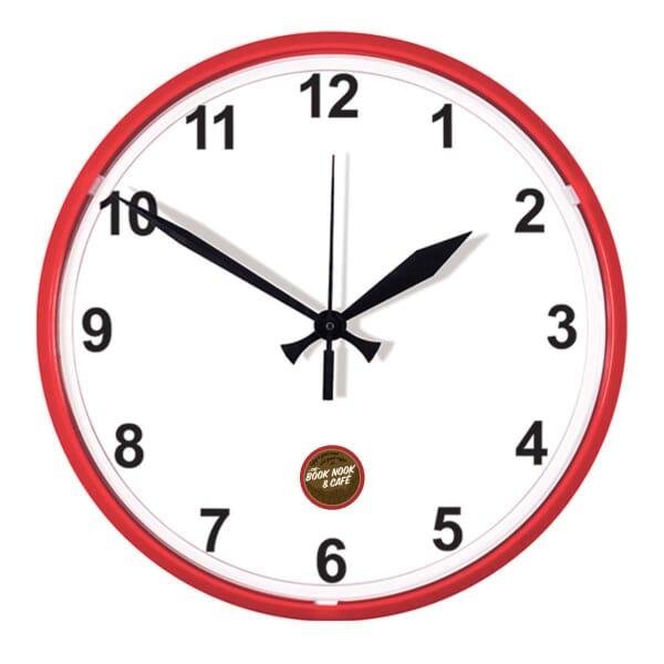 """12 3/4"""" Dia. Wall Clock"""