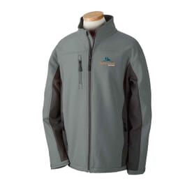 Devon & Jones Soft Shell Colorblock Jacket - Men's