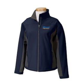 Devon & Jones Soft Shell Colorblock Jacket - Ladies