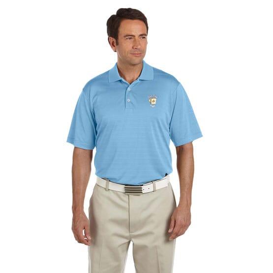 Adidas® Climalite® Textured Polo - Men's