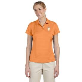 Adidas® Climalite® Textured Polo - Ladies