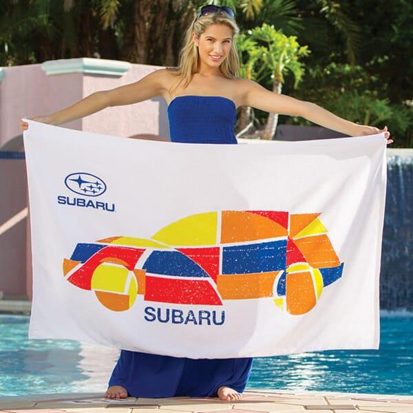 Ultra Soft Beach Towel - White