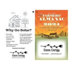 Farmers' Almanac 2021 - Black
