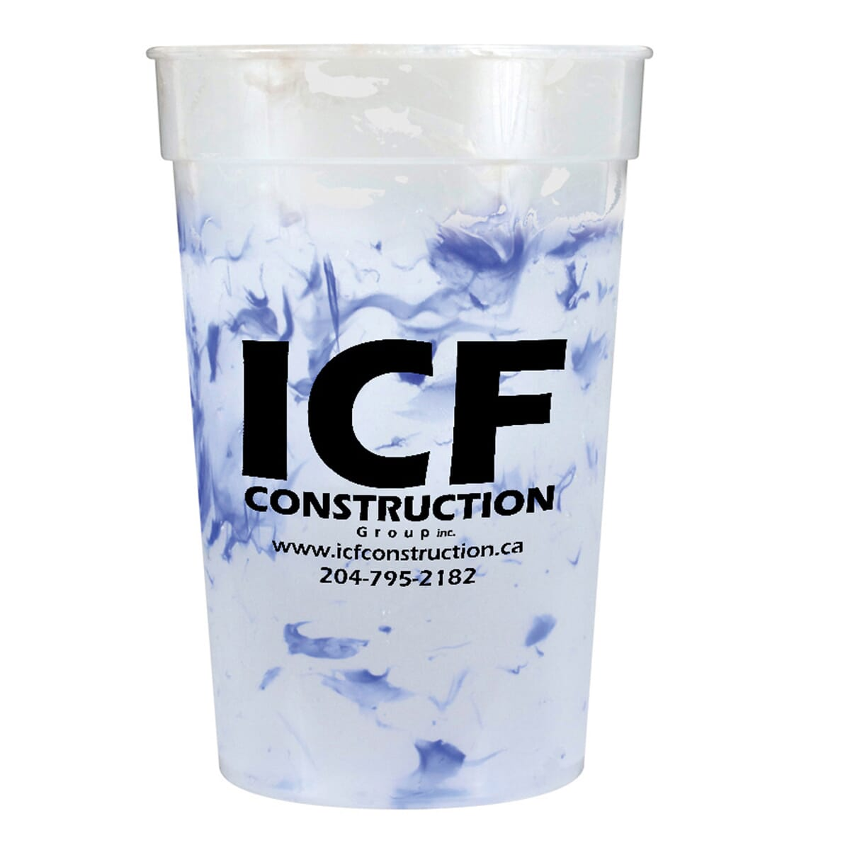 Confetti Color-Changing Stadium Cup