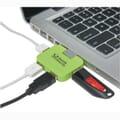USB hub in use