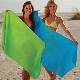 Jewel Colored Beach Towel