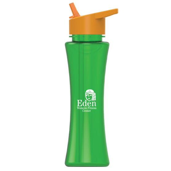 17 Oz Tritan(TM) Curve Bottle - Flip Straw 110418