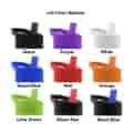 Bottle lid color options