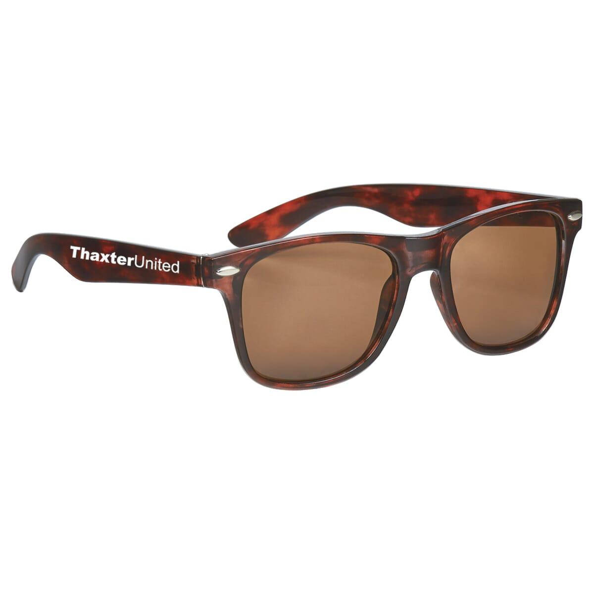 Retro style tortois shell sunglasses