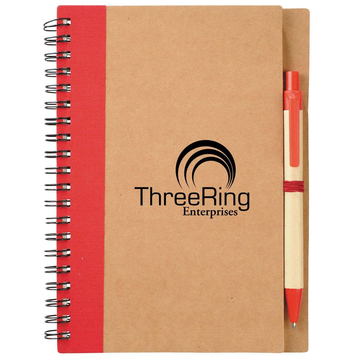 Eco friendly cardboard notebook