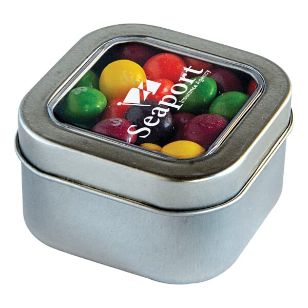 Square Candy Tin-Skittles®
