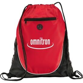 Tunes Drawstring Cinch Backpack