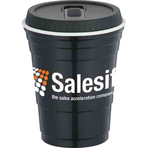 16 oz Tailgate Cup with Lid