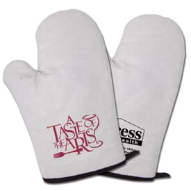Flame Resistant Large Oven Mitts