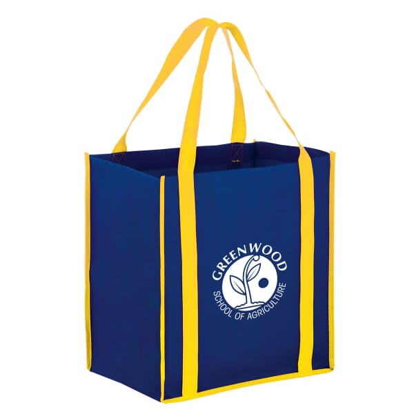 Best Value Accent Grocery Tote- Small