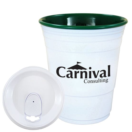 16 oz Carnival Cup W/ Lid