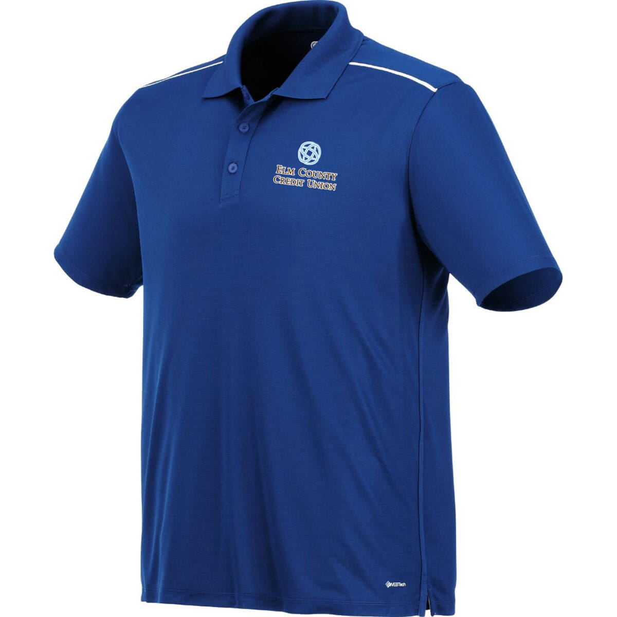 Men's Polo with Embroidered Logo