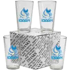 Pint Glass Thank You Set