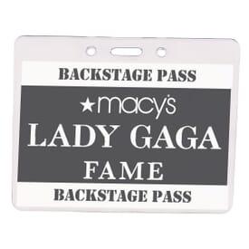 Vinyl Badge Holder
