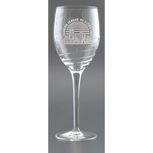 Sophisticate White Wine Glass Set