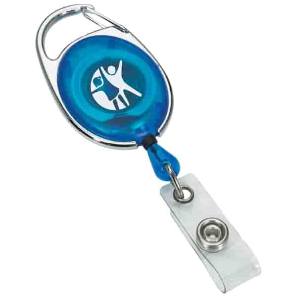Translucent Badge Reel
