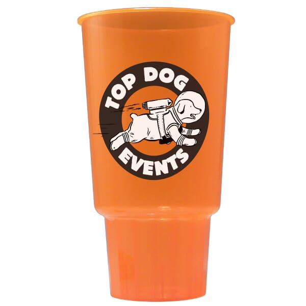 32 oz Lustrous Stadium Cup