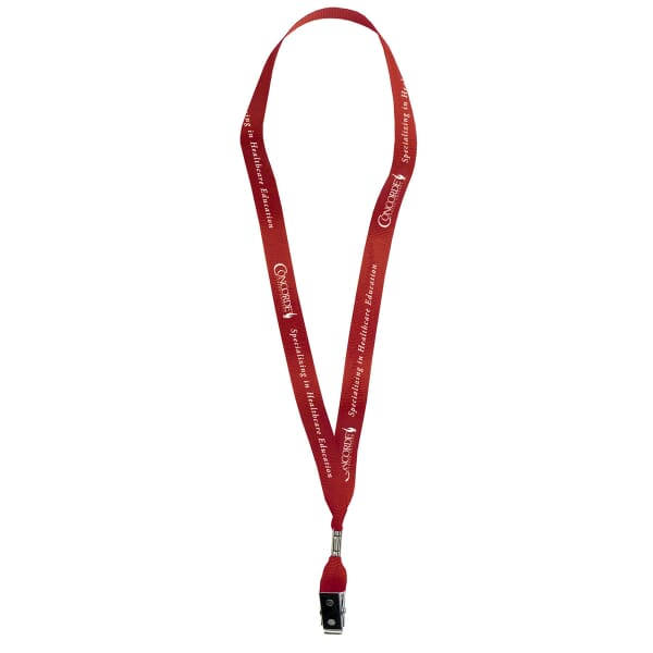 "5/8"" Factory Direct Polyester Lanyard"