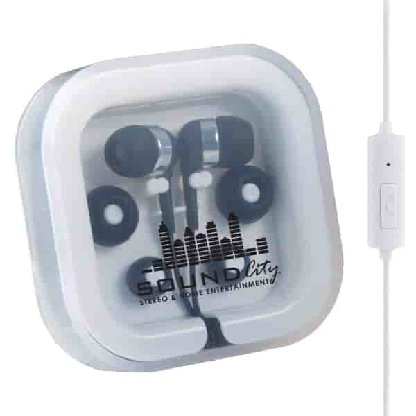 Color Pop Earbuds W/Microphone