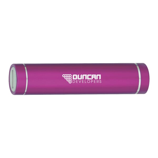 2200 mAh Portable Power Bank - Round