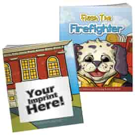 Flash The Firefighter Coloring Book With Mask