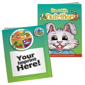 Fun With Nutrition Coloring Book With Mask